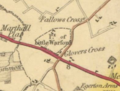 Detached Portion of Little Warford in 1831
