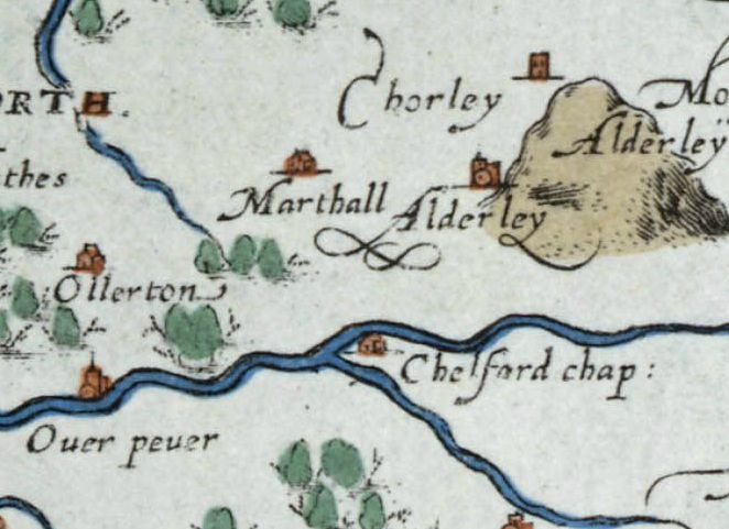 Christopher Saxton's Map of 1577